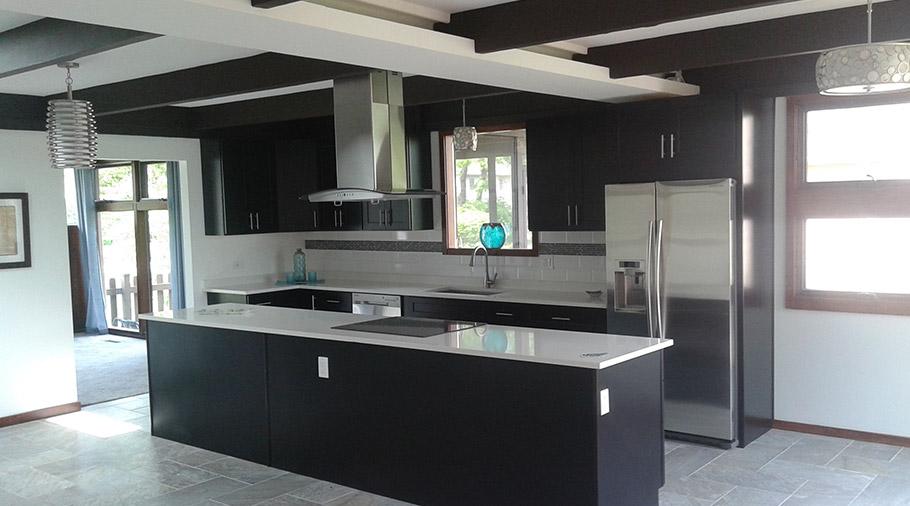 Kitchen Fire Restoration - After