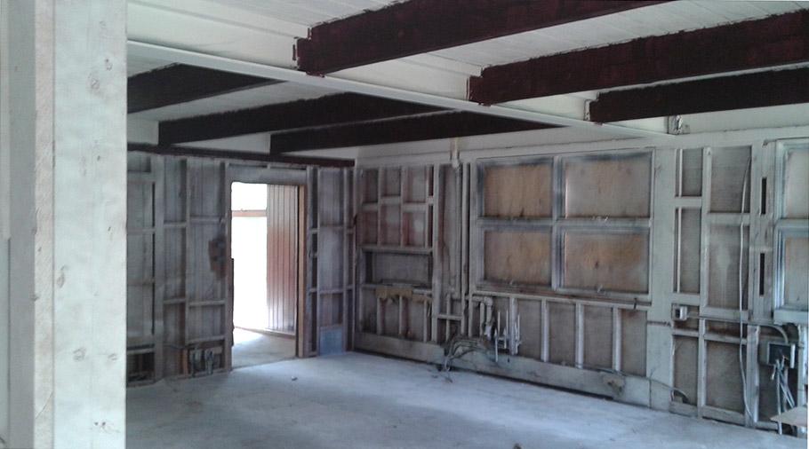 Kitchen Fire Restoration - Before