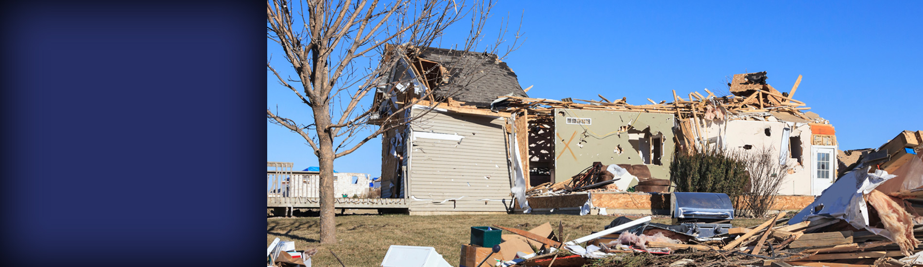 harris claims services slide tornado damage