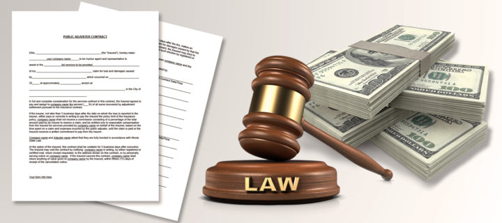 Illinois Public Adjuster Contracts & How They Get Paid