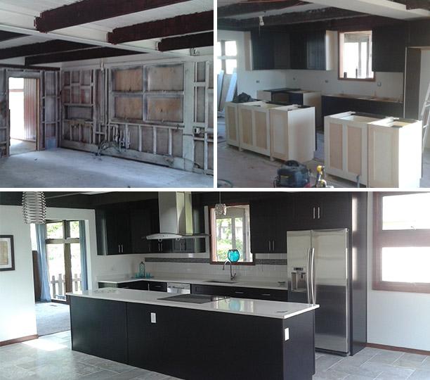 kitchen fire restoration